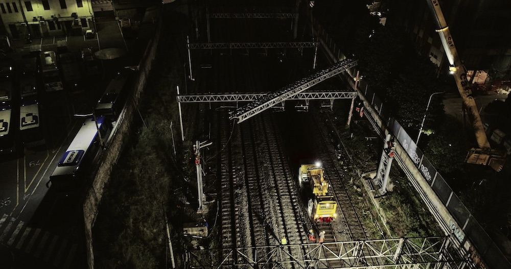 Renovation of the electric traction line between Firenze Campo di Marte and Statuto
