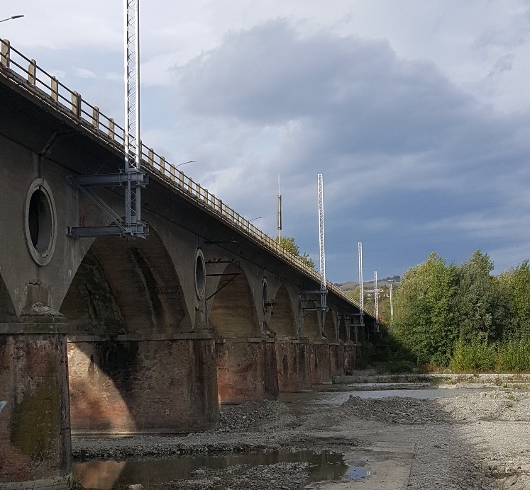 Railway electrification between Reggio Emilia and Sassuolo