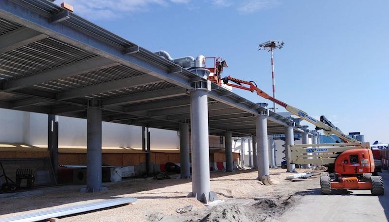 Ampliamento dell'area smistamento bagagli dell'aeroporto di Pisa
