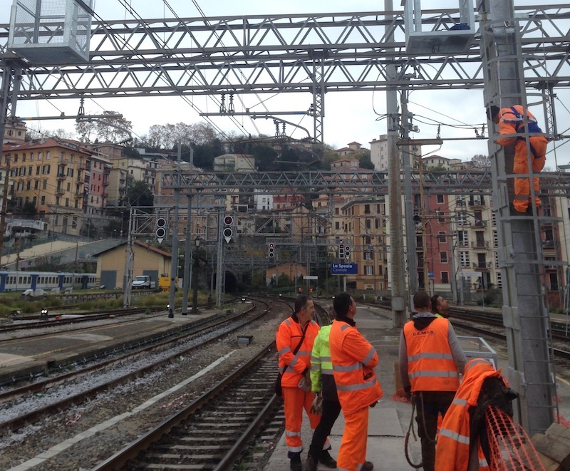Extraordinary maintenance of the safety and signalling systems