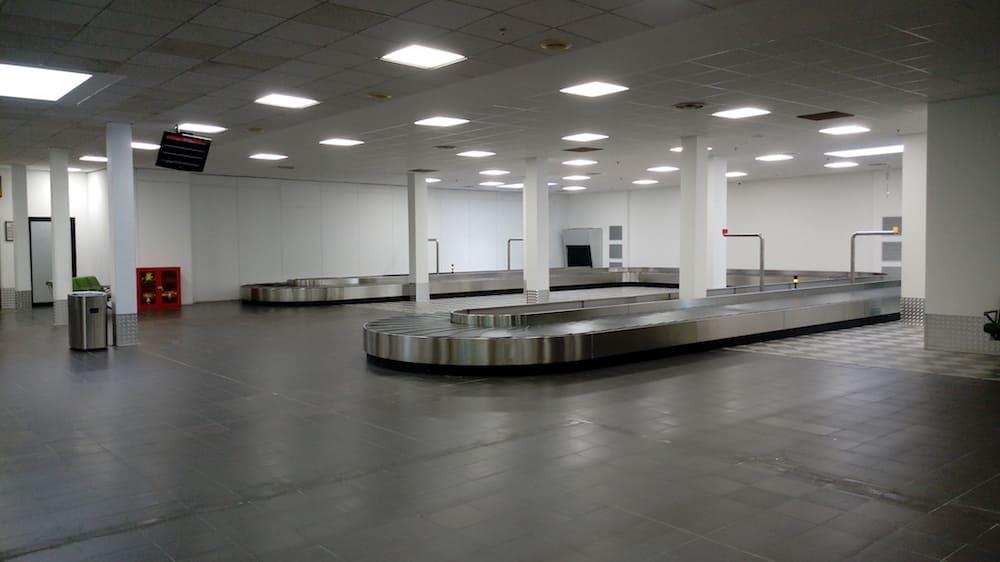 Galileo Galilei Pisa Airport, terminal expansion phase 0