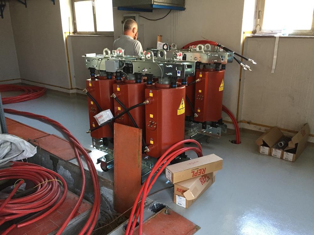 Adeguamento cabine e impianti SSE