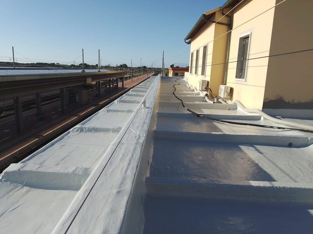 Renovation of a building and other engineering work at Campiglia Marittima railway station