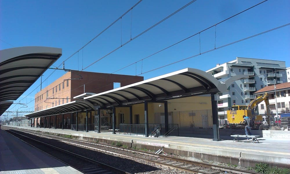New railway shelters
