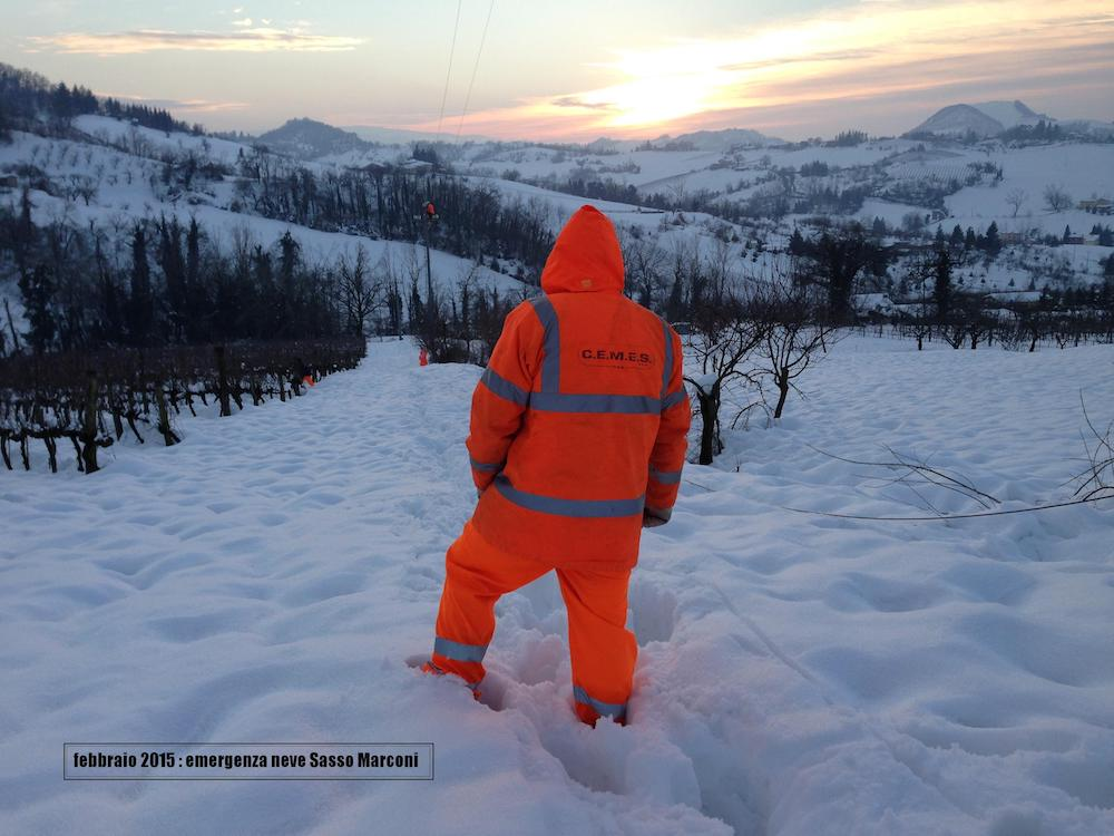 Guasti per neve Provincia Pistoia