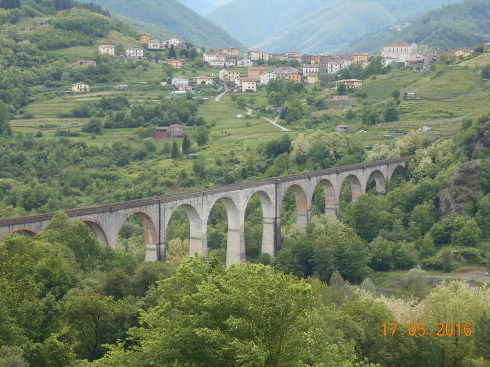 Remediation of the parapets at Ponte a Villetta