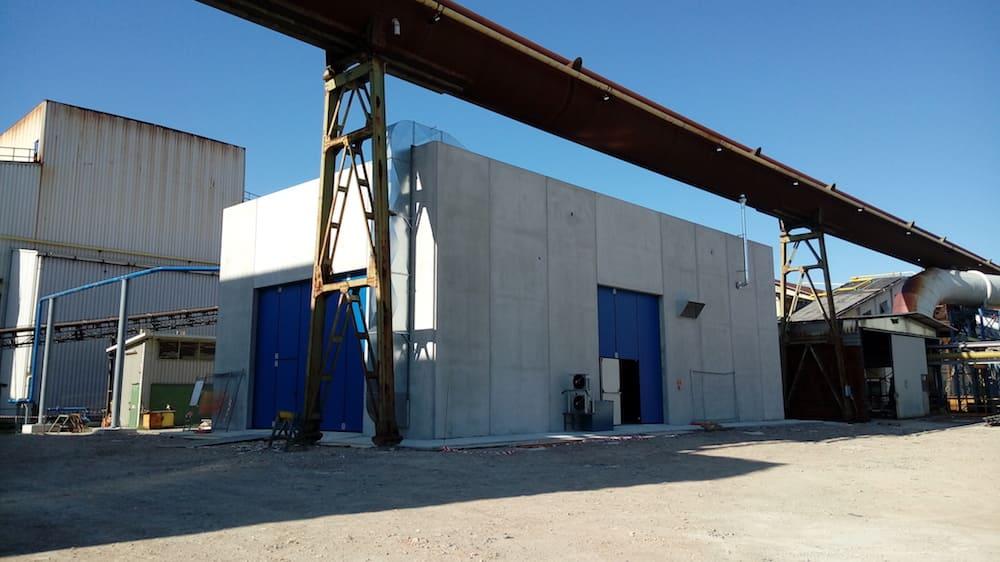 Opere edili per impianti di mitigazione delle emissioni e recupero energetico