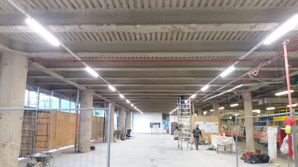 Extension of the baggage handling area at Firenze airport